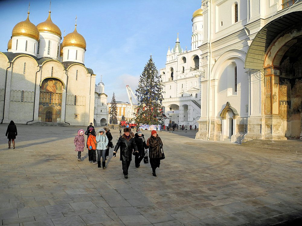 00c Kremlin Holiday Tree. 31.12.12