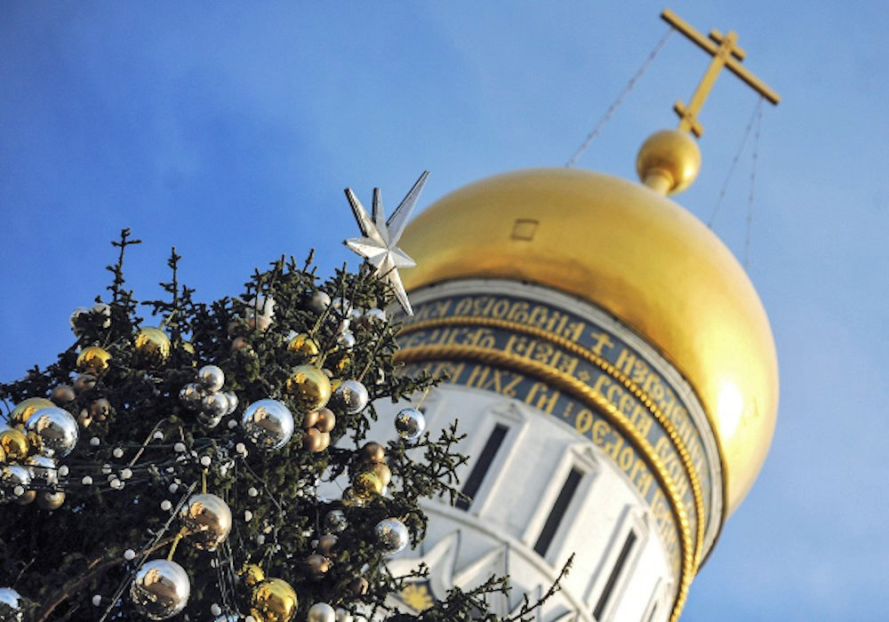 00f Kremlin Holiday Tree. 31.12.12