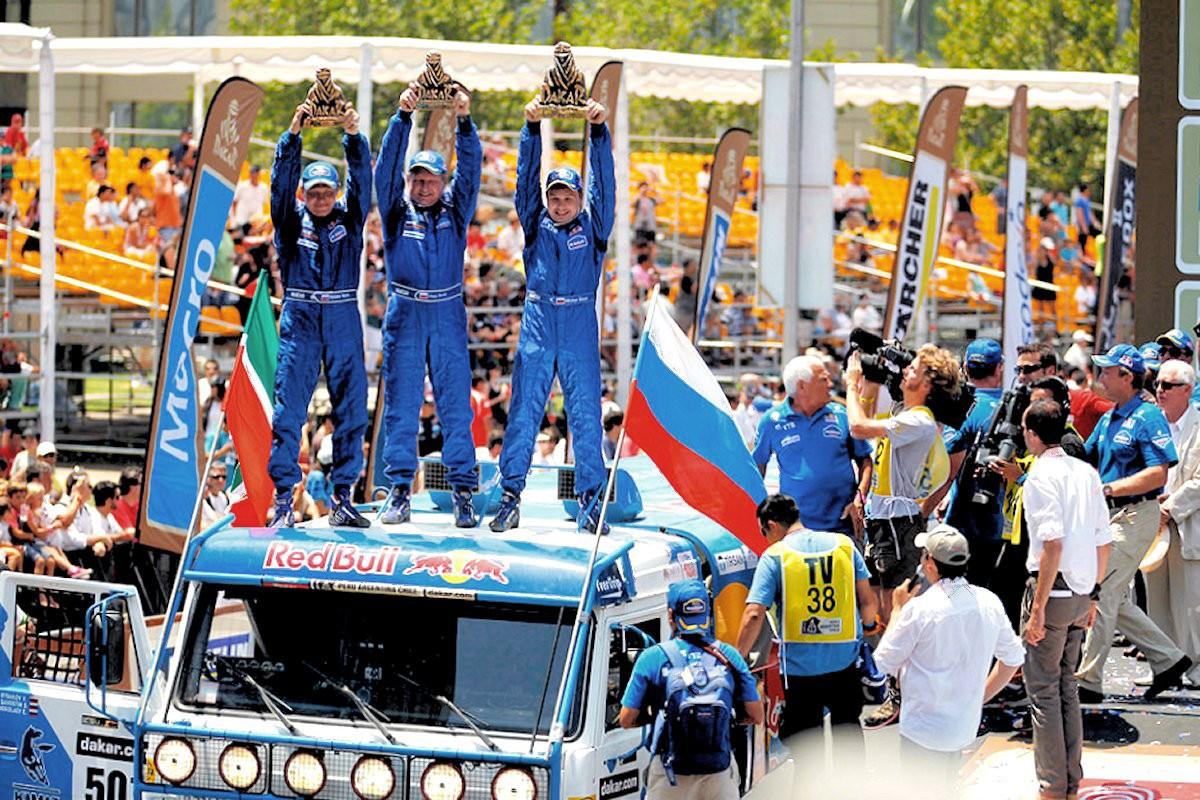 00 KAMAZ. Dakar Rally. Santiago CHILE. 21.01.13