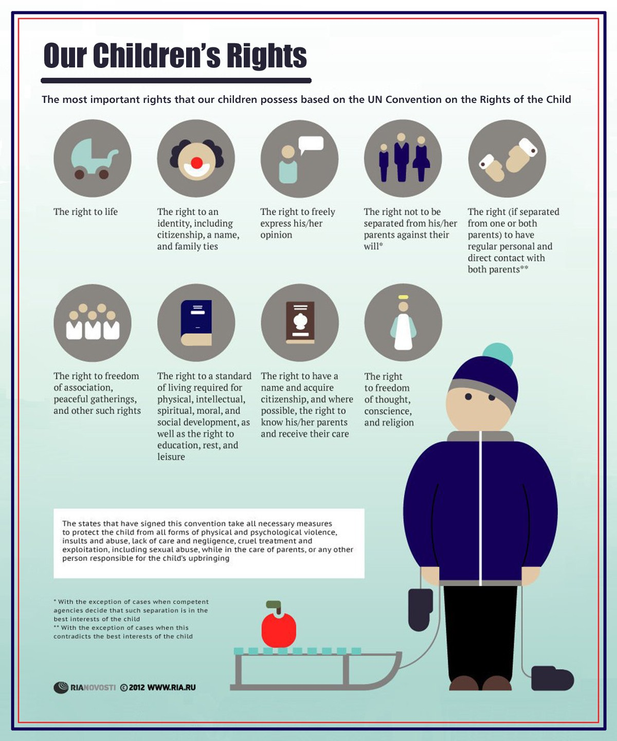 00 RIA-Novosti Infographics. Our Children's Rights. 2013