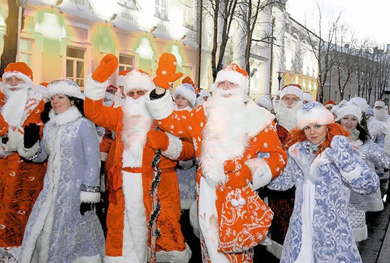 00a Happy Holidays. Belarus Style. 03.01.13. Ded Moroz. Snegurochka