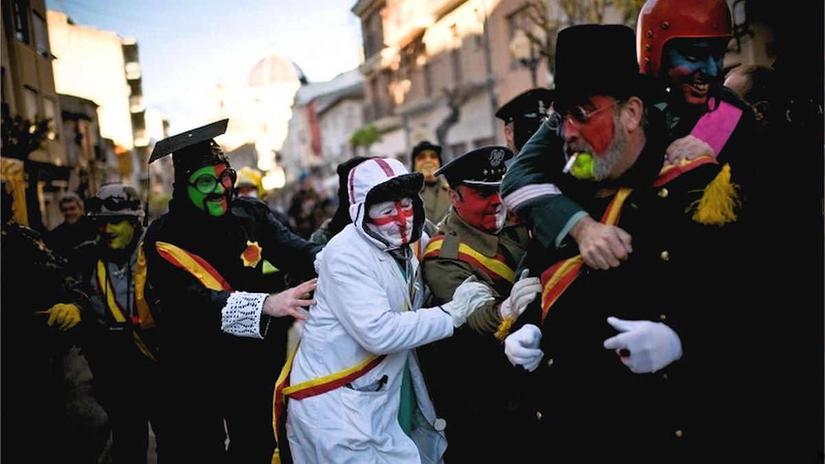 00b Flour War in Spain. Ibi in Valencia. 01.01.13