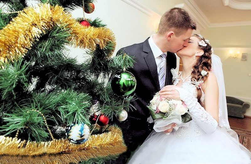 00b Happy Holidays. Belarus Style. 03.01.13. Wedding Couple