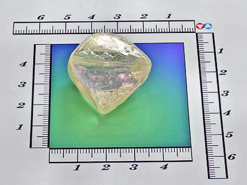 00 Alrosa diamond. Yakutia. 12.02.13