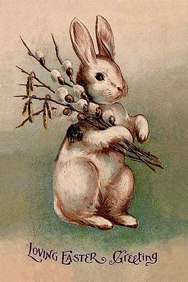 00 Loving Easter Greeting. 1907. 31.03.13