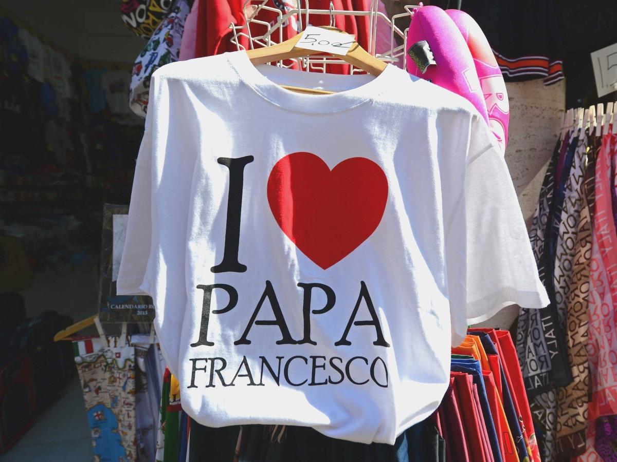 00 Pope Francisco Bergoglio. T-shirt. 23.03.13