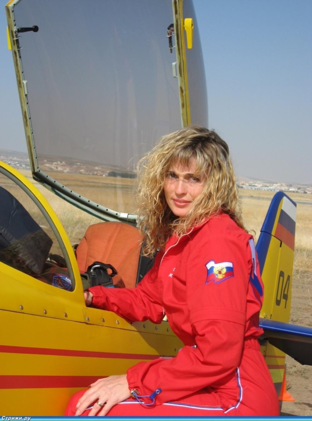 00 Svetlana Kapanina. Russian pilot. 07.03.13