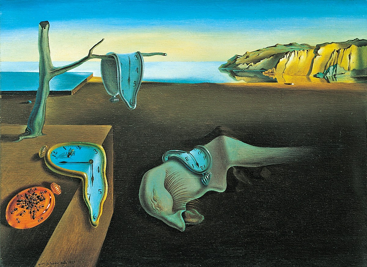 Salvador Dalí. The Persistence of Memory. 1931