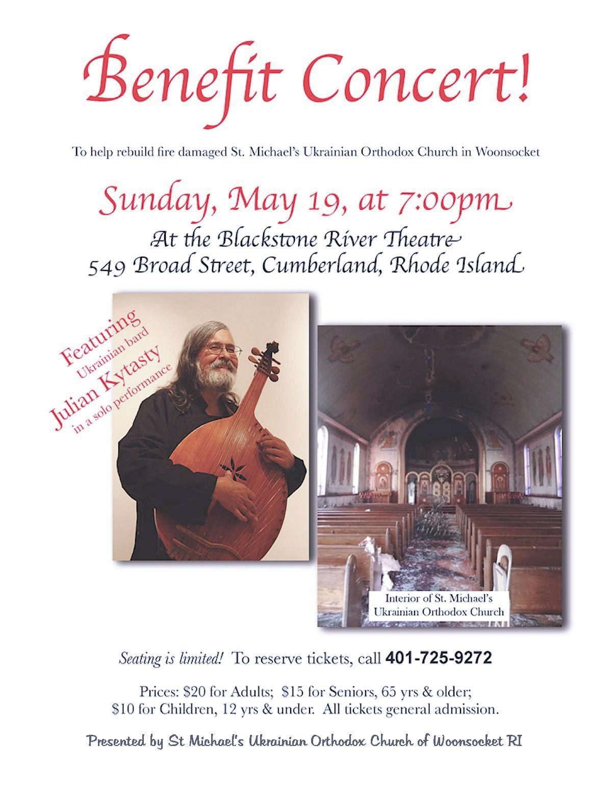 00 Benefit Concert. St Michael UOC. Woonsocket RI. 18.05.13