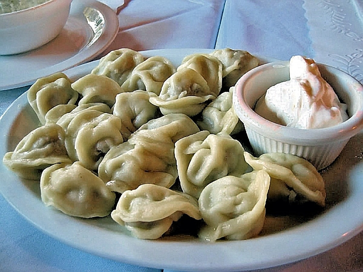 00 Pelmeni. Russian food. 26.06.13