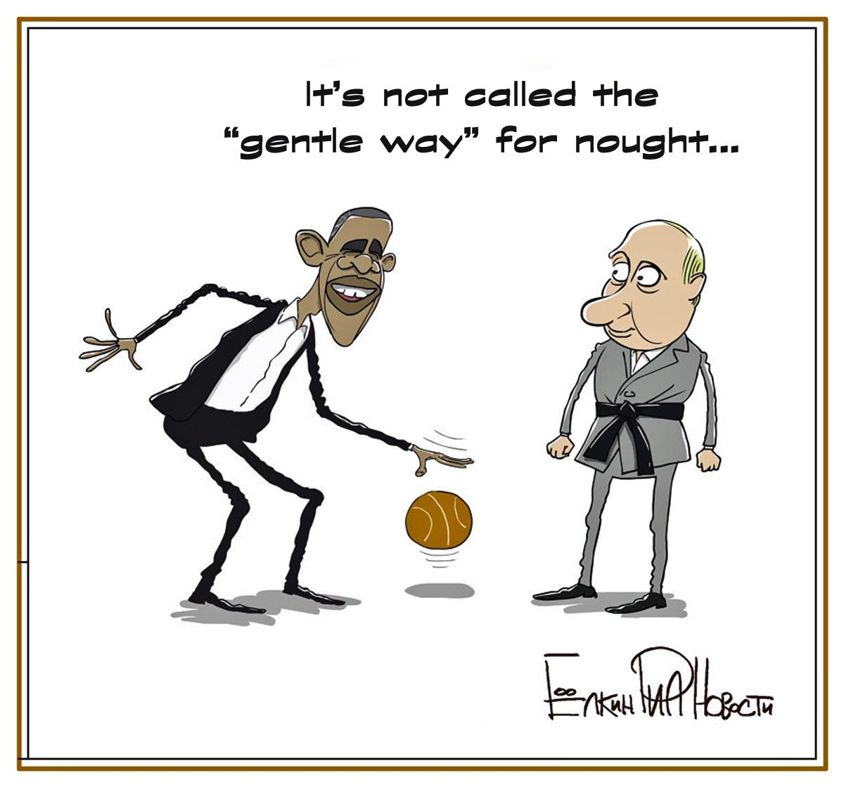00 Sergei Yolkin. A Little Presidential Weakness. 2013