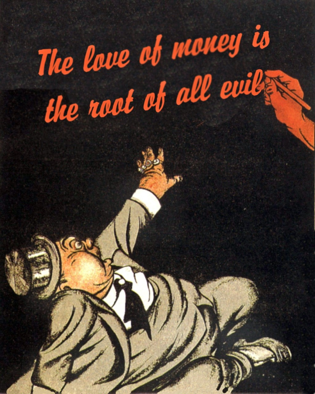 """essay evil money root The old adage """"money is the root of all evil"""" is a phrase that has been thrown around for centuries originally derived from scripture, it is a belief that is rarely held by those that are in possession of money and, similarly, it is a belief that is often lost to those that gain money."""