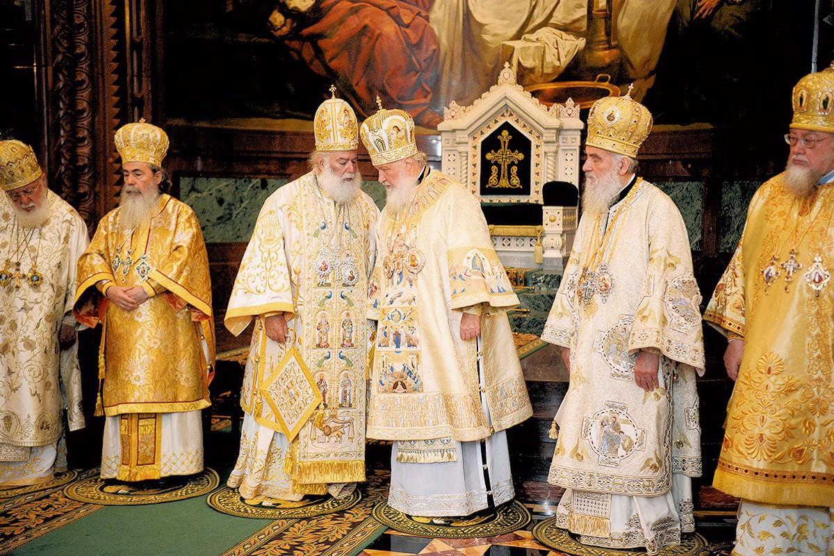 00 Patr Kirill. Christ the Saviour. Moscow. 24.07.13