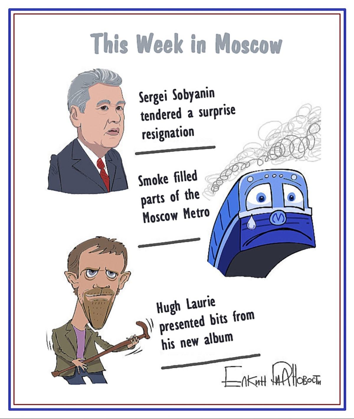 00 Sergei Yolkin. Events of the Week in Cartoons. 3-7 June 2013. 2013