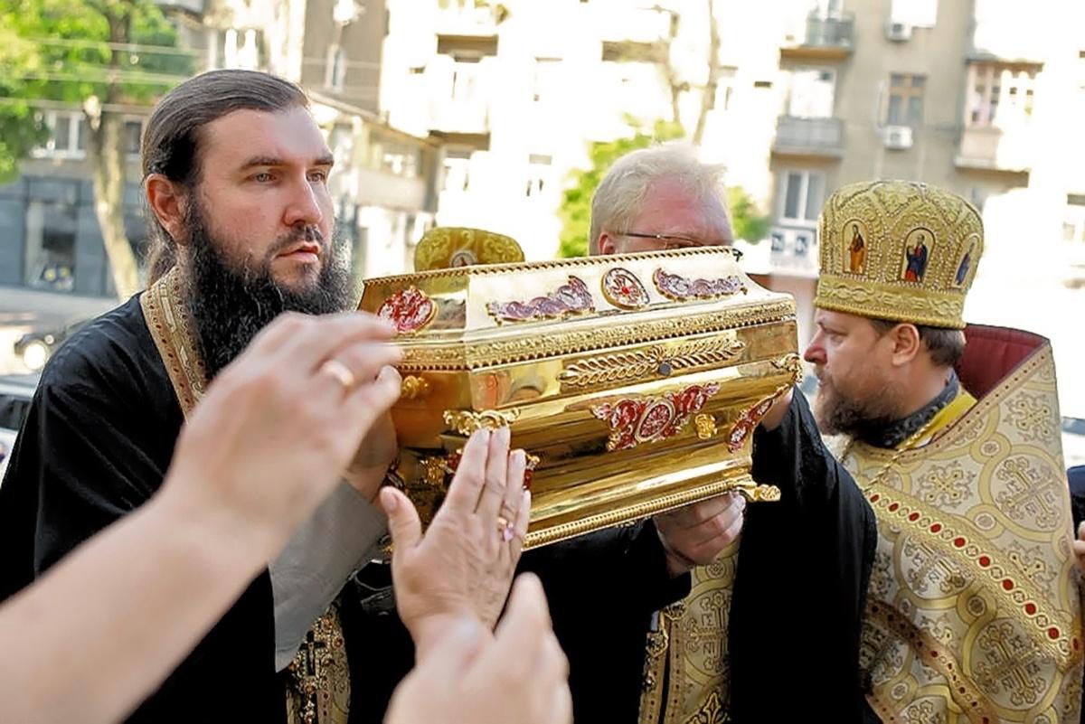 00 St Vladimir relics. Odessa. 09.07.13