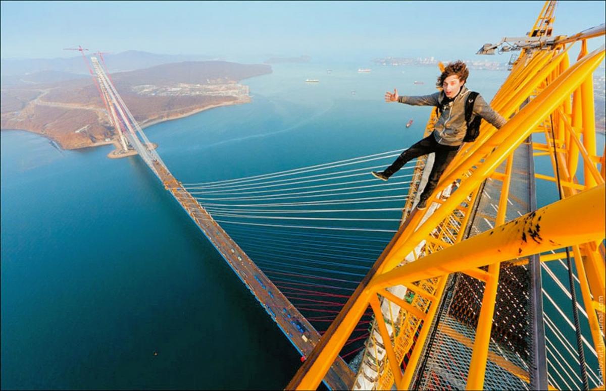 00 Vladivostok. Russky Island Bridge. Russia. 03.07.13 – Resized