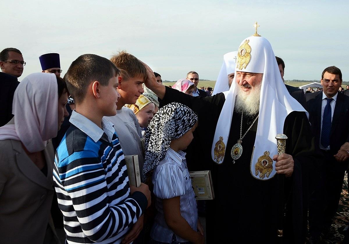 00 Patriarch Kirill. Kemerovo. 28.08.13