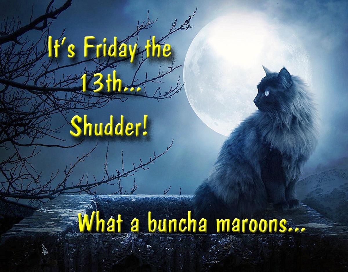 00 Black Cat. It's Friday the 13th... Shudder. 13.09.13