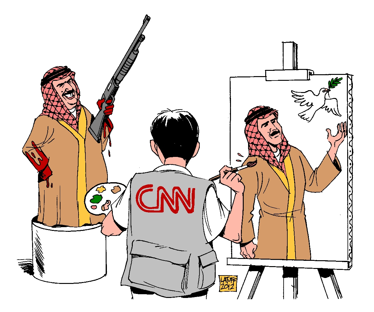 00 Carlos Latuff. CNN Whitewashing Bahrain Dictatorship. 2012