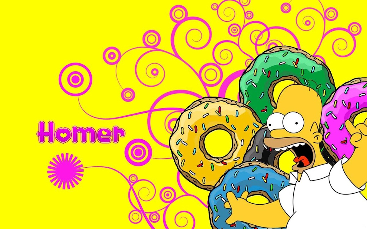 00 Homer Simpson. Donuts. 14.09.13