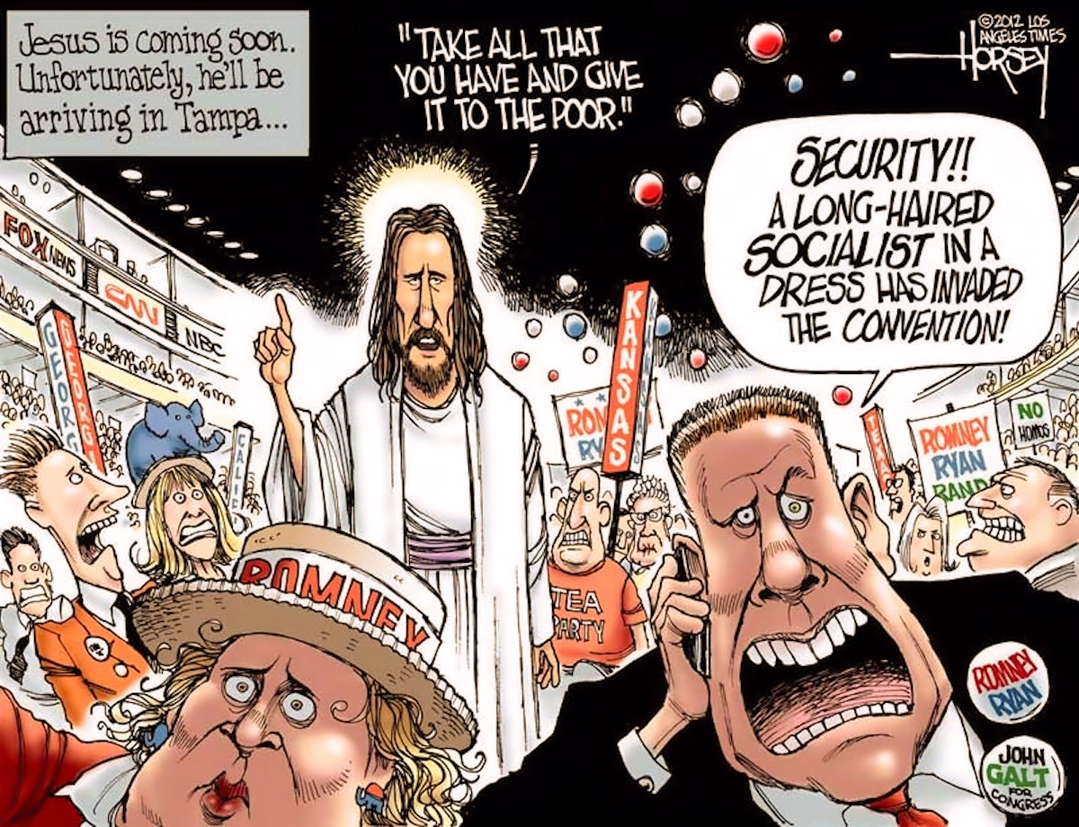 00 Jesus at the Republican Convention. 22.09.13