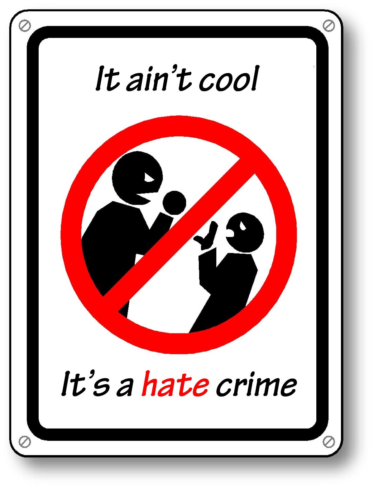 00 No More Hate Crime. 18.09.13