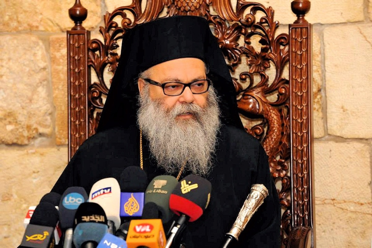 00 Patriarch Youhanna al-Yazigi of Antioch. 28.09.13