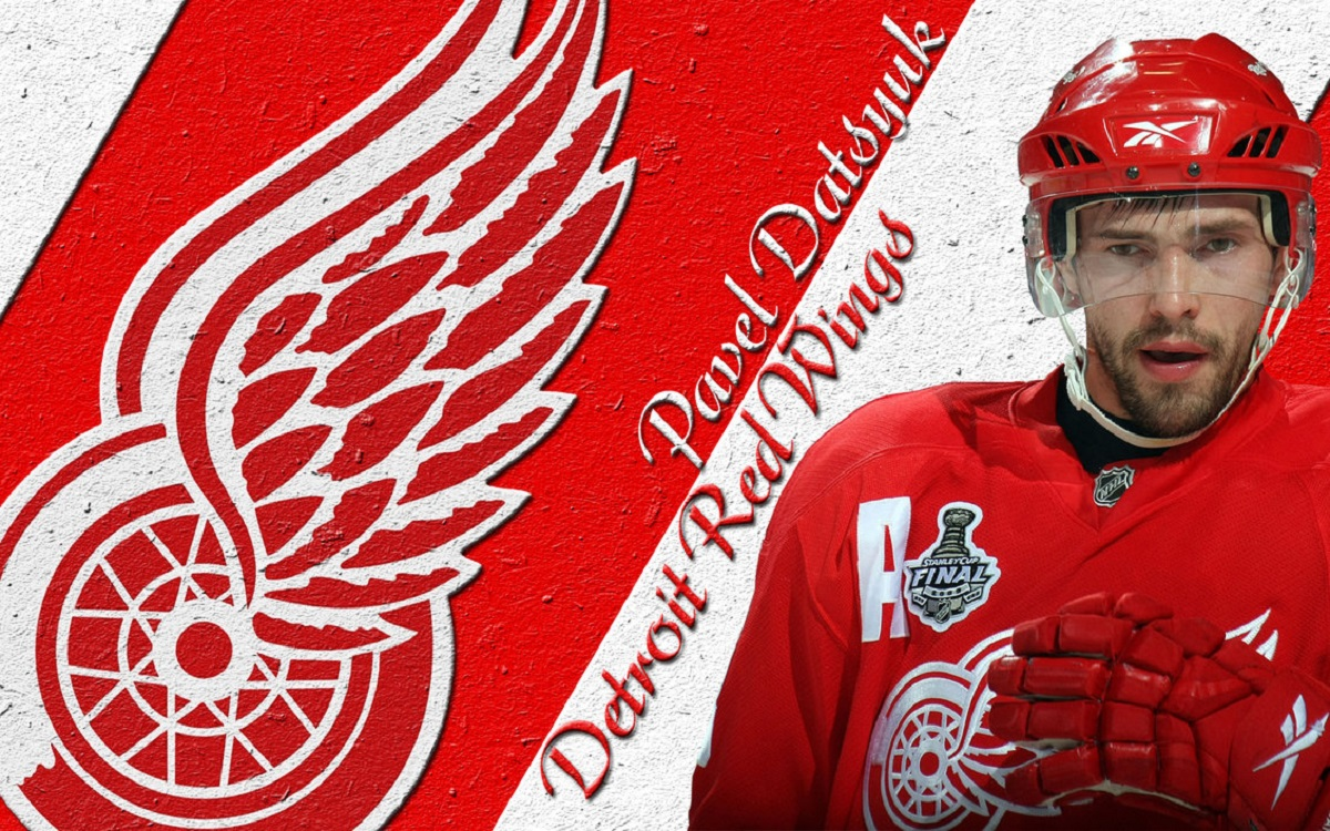 00 Pavel Datsyuk. Detroit Red Wings. 05.09.13