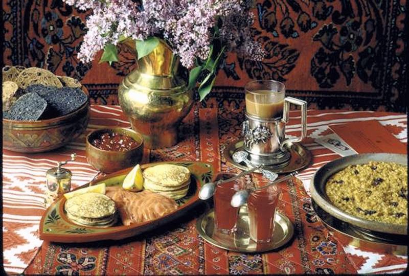 00 traditional russian breakfast. 1972. 19.09.13