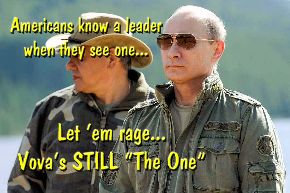 00 Vova's STILL the One. Vladimir Putin. 14.09