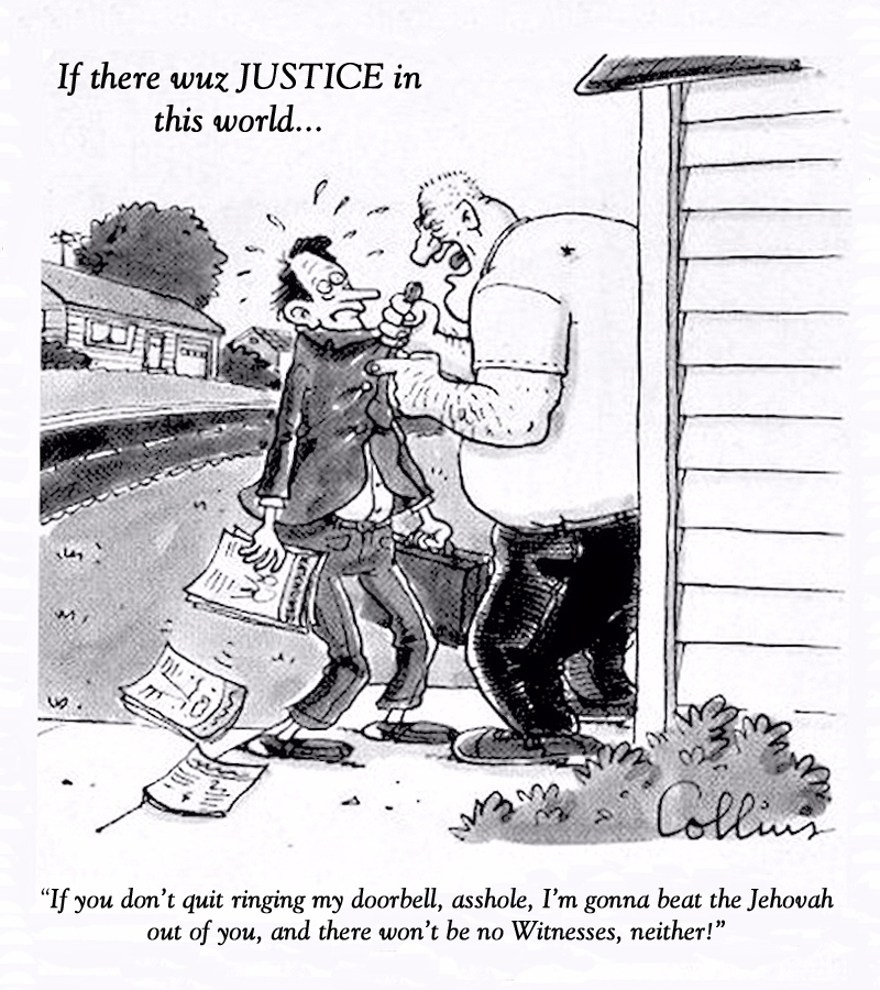 00 anti-Jehovah's Witnesses cartoon. 14.10.13