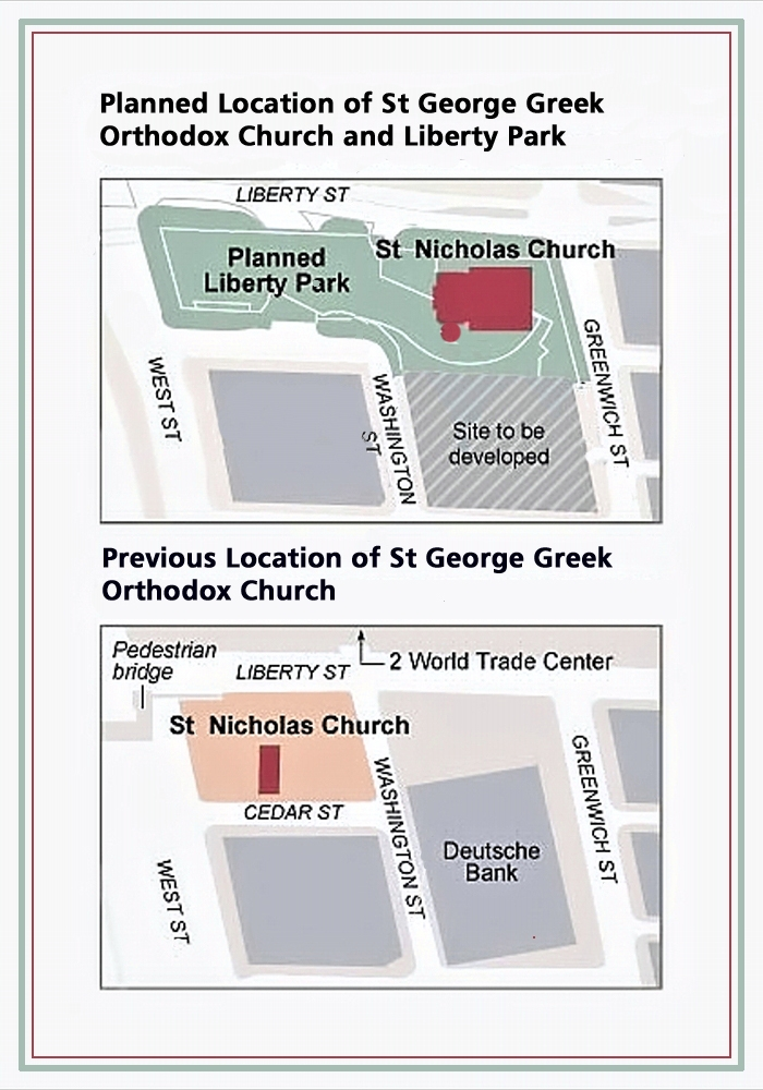 00 NY Times Infographic. Location of St George Greek Orthodox Church. New York NY. 31.10.13