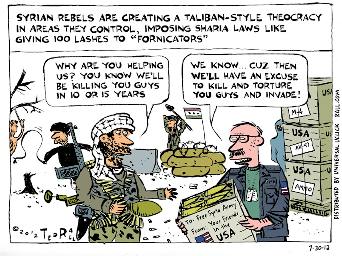 00 Ted Rall. A Look Back at Syria. 2012
