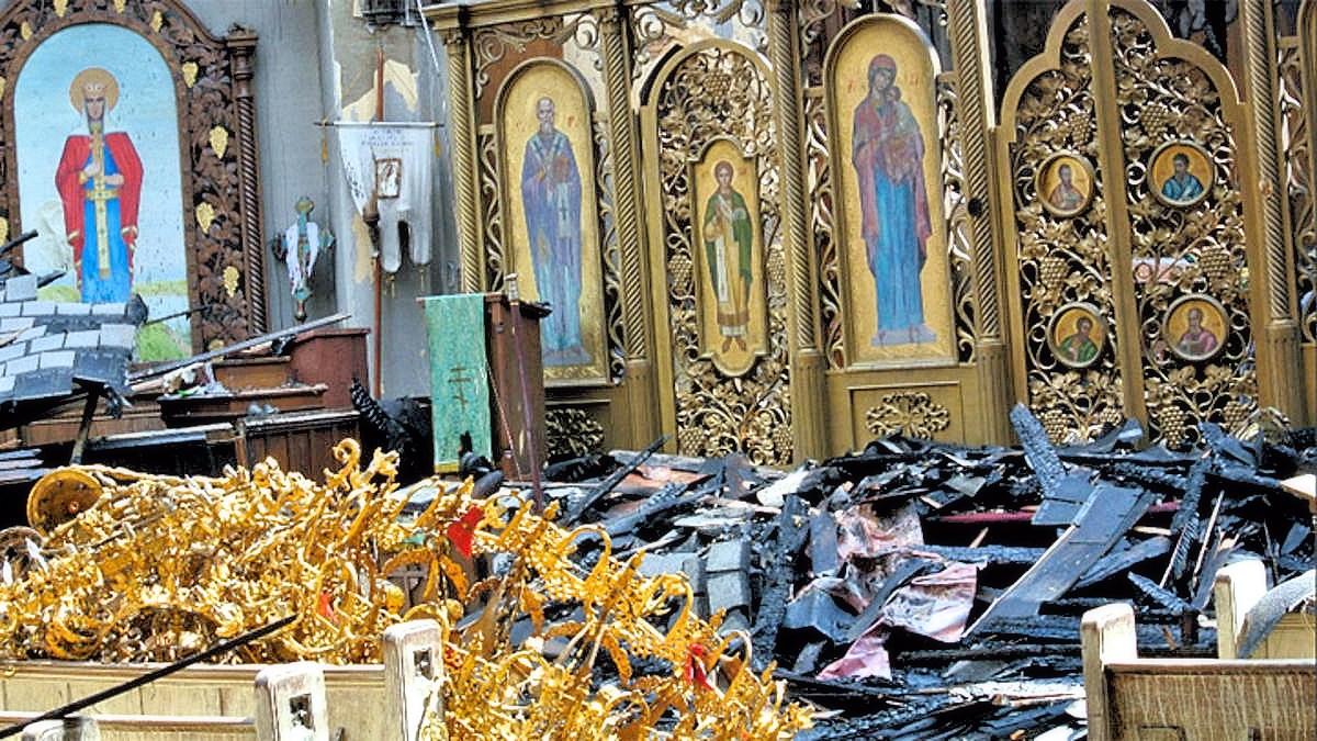 00 Ukrainian Orthodox fire. Philadelphia PA USA. 31.10.13
