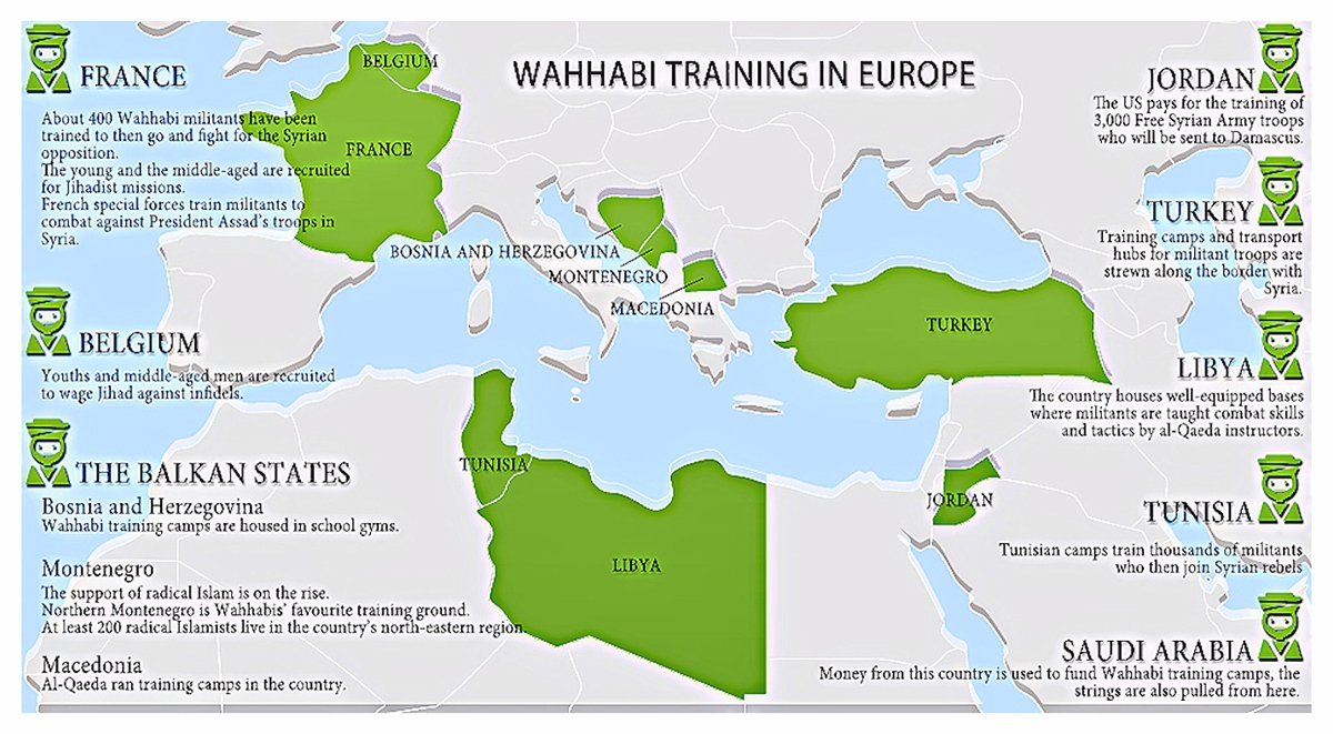 00 VOR Infographic. Wahhabi Training in Europe. 19.10.13