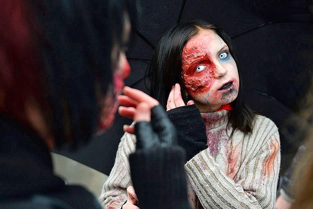 00 Zombie Walk in Novosibirsk. 31.10.13