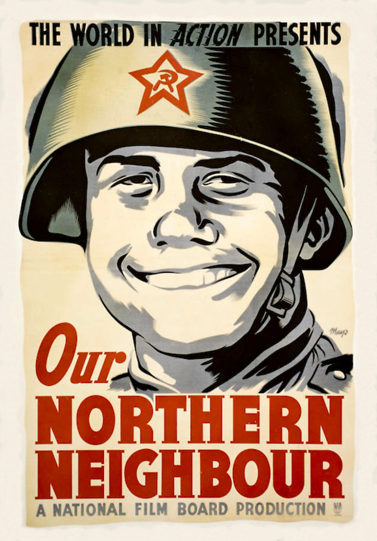 00 Lend-Lease Posters 01. USSR. Our Northern Neighbour. 28.11.13
