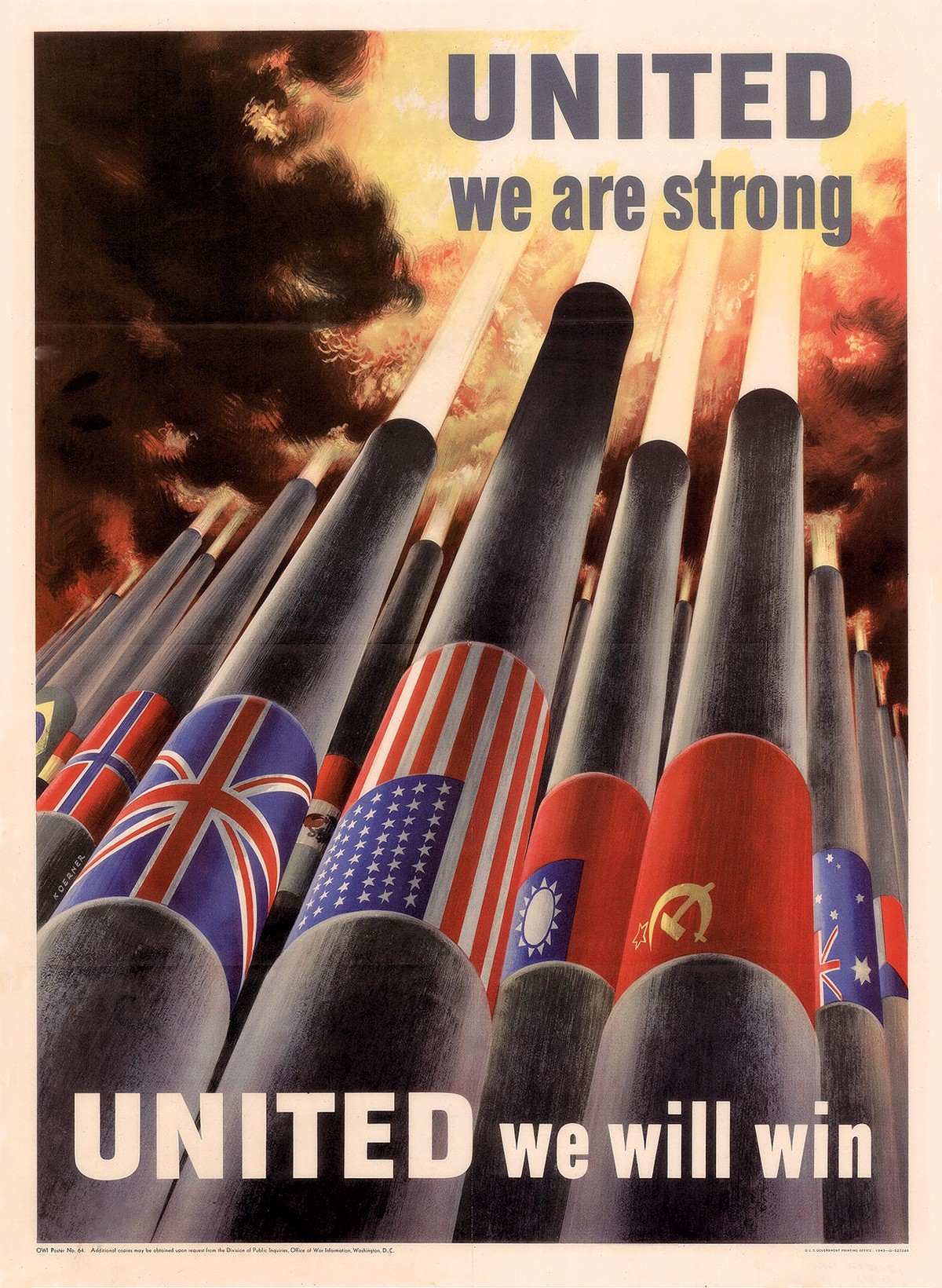 00 Lend-Lease Posters 01. USSR. United We Will Win. 28.11.13