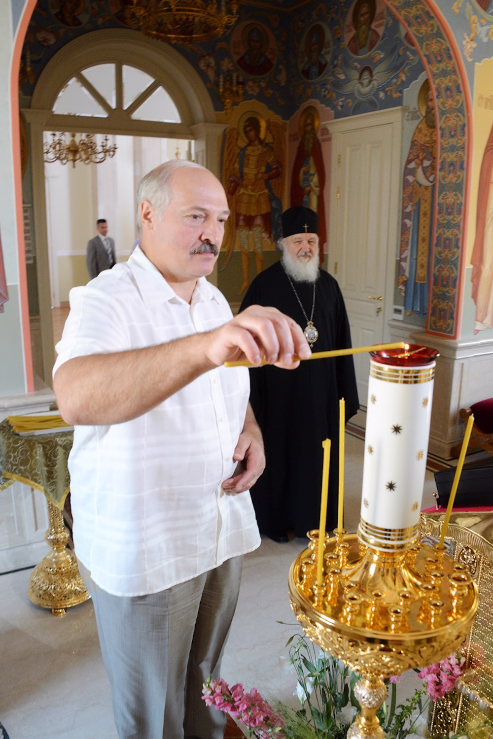 00 Lukashenko and Patriarch Kirill. 01. 12.07.13