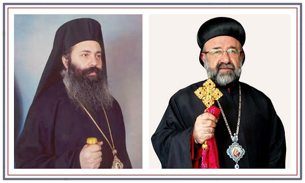 00 Metropolitans Boulos and Gregorios. Syria. 10.11.13