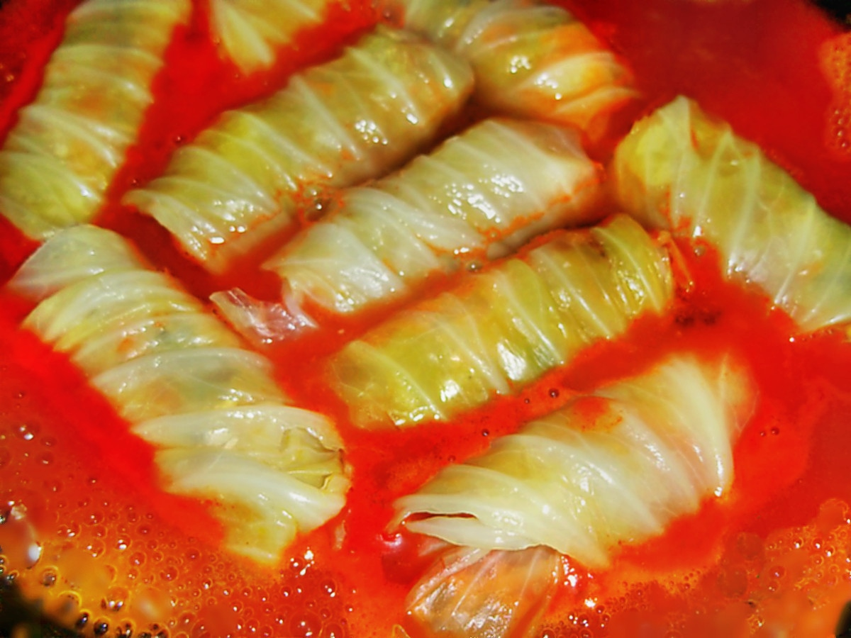 00 golubtsi. stuffed cabbage. russian food. 15.12.13