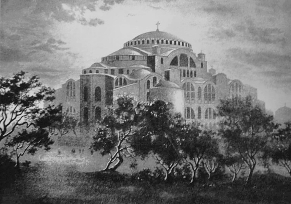 00 Hagia Sophia Cathedral of the Holy Wisdom. 17.12.13