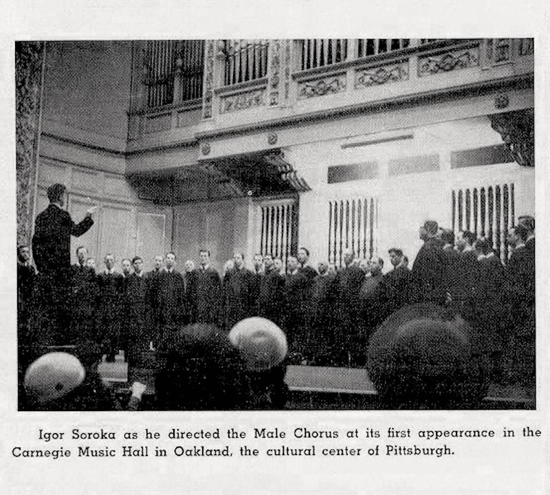 00 Igor Soroka. Male Chorus. Pittsburgh PA. 28.12.13
