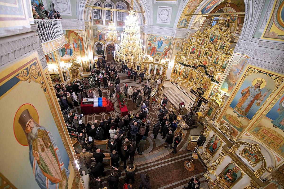 00 Kalashnikov funeral 03. Izhevsk. 29.12.13