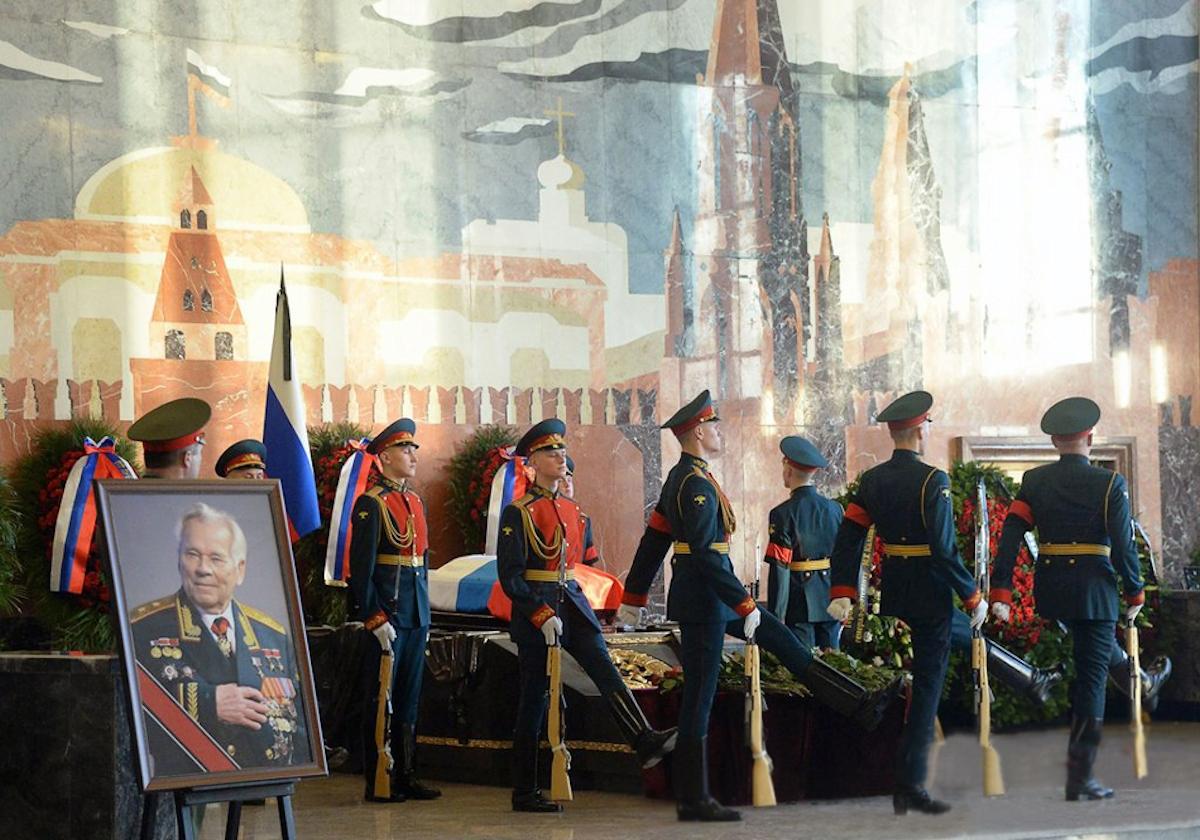 00 Kalashnikov funeral 12b. Moscow. 29.12.13