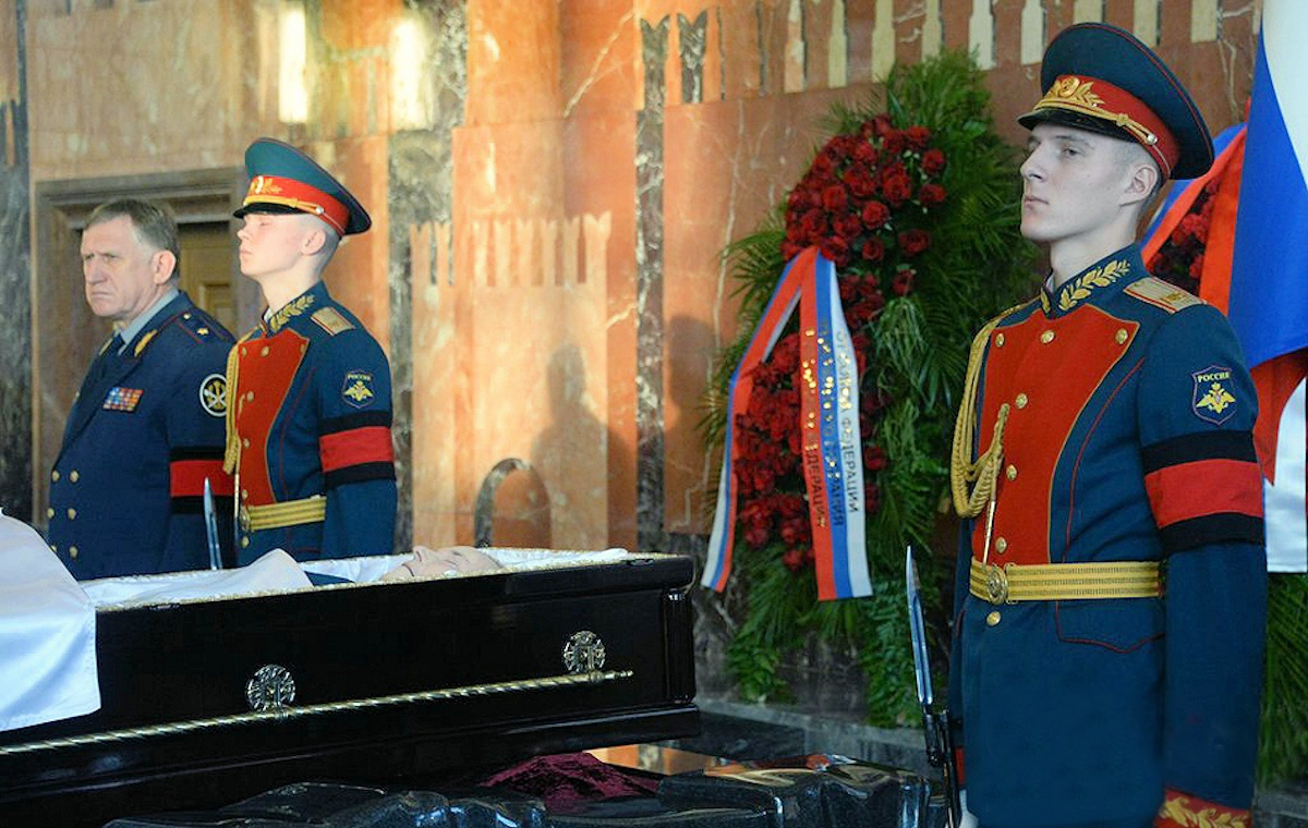 00 Kalashnikov funeral 12c. Moscow. 29.12.13
