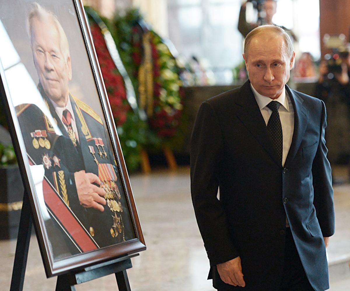 00 Kalashnikov. Putin. 27.12.13