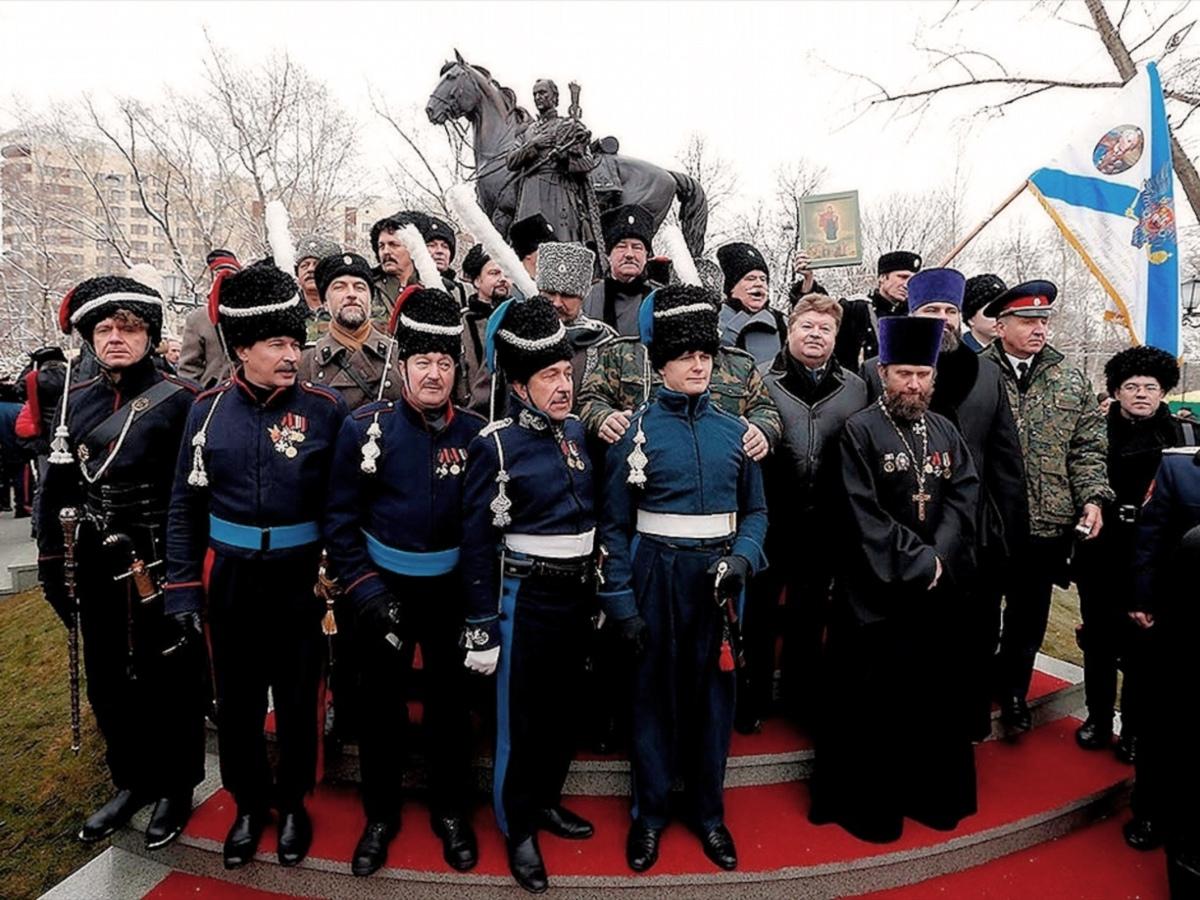 00 Matvei Platov Statue. Cossack Glory Park. 08.12.13