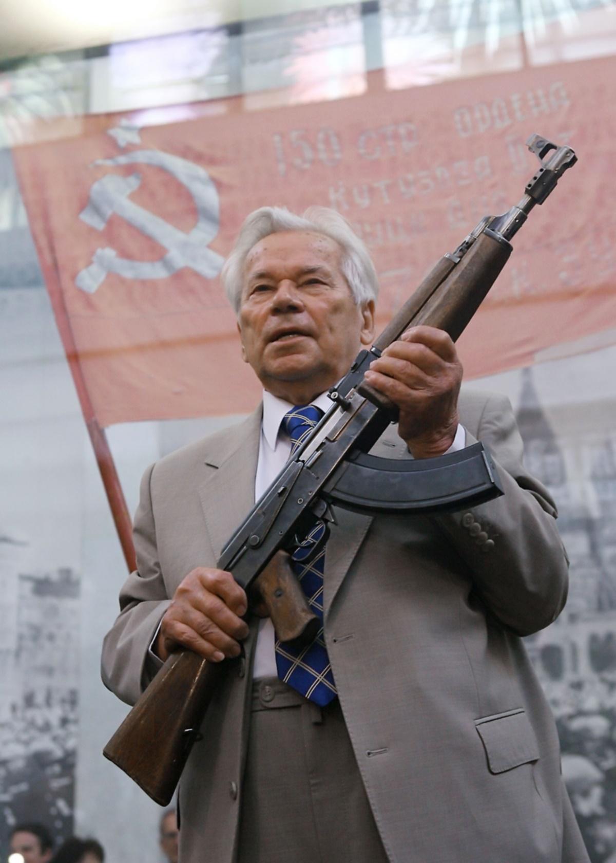 00 Mikhail Kalashnikov. Russian,Soviet inventor. 16.12.13