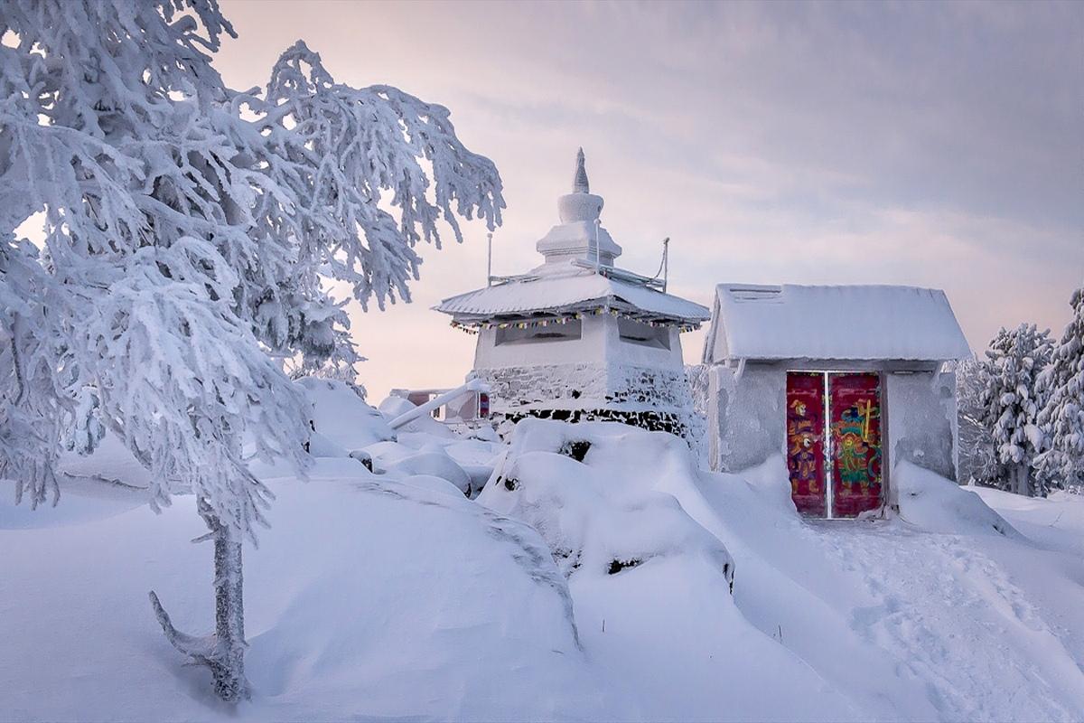 00 Russian Buddhist datsan. Sverdlovsk Oblast. Image A. 21.12.13